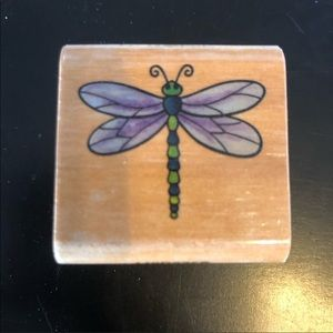 🌻HP🌻3/$15 StampCraft 2005 Dragonfly Stamper